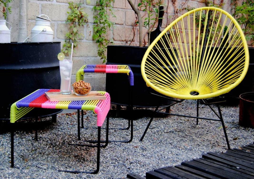 Banco ayutla reposapies silla acapulco en for Silla acapulco
