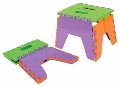 banco banqueta dobrável infantil plastico cadeira camping