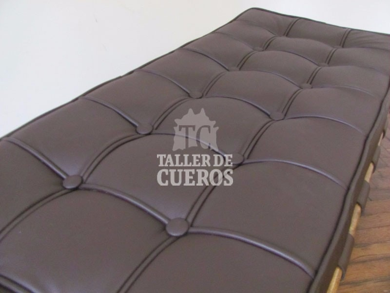 Vistoso Bancos De Muebles De Cuero Negro Embellecimiento - Muebles ...