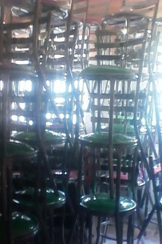 banco barra lounge verde  (oferta 1 a la vez)