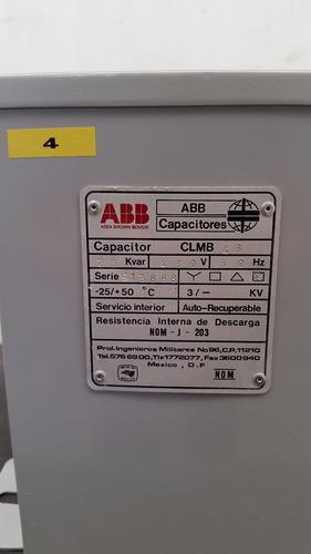 banco capacitor abb 20 kvar 480v delta (4)