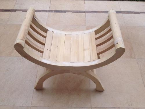 banco cleopatra retro vintage pie de cama living silla