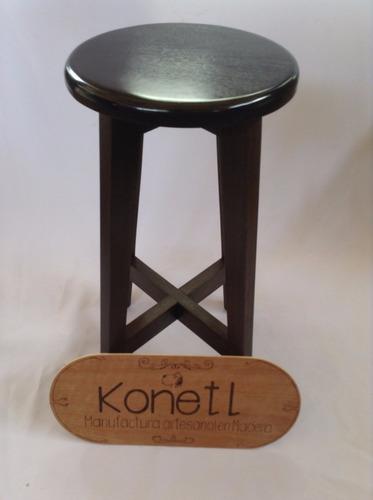 banco cocina/bar madera sólida de banak konetl