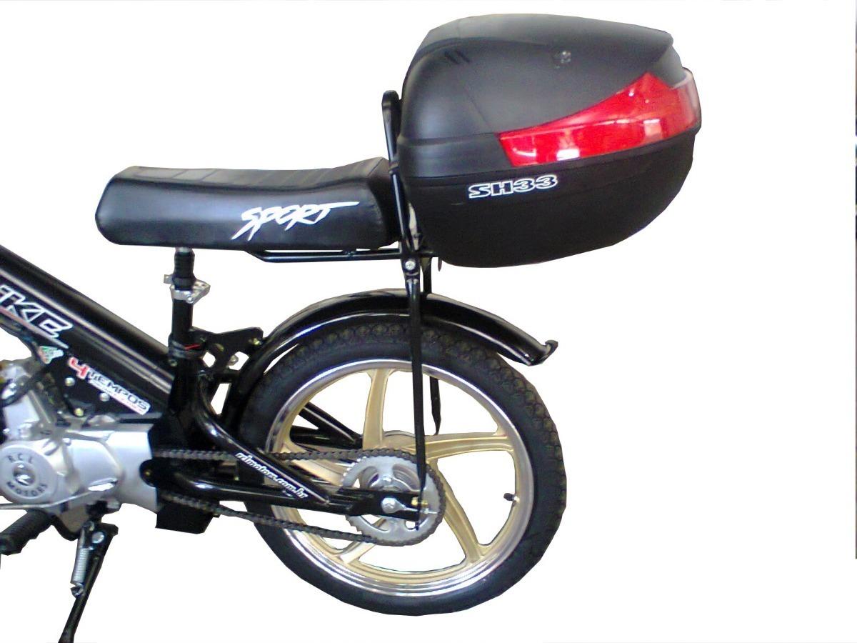 Banco Com Bagageiro Para Topbike Bicicletas Bikelete R 110