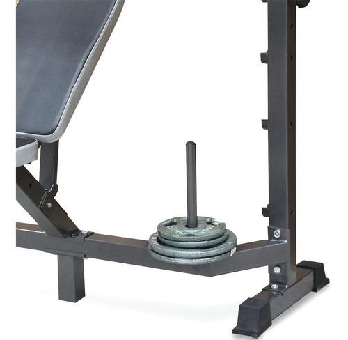 banco con polea pesas espalda, pecho, brazo, pierna 5 en 1 g