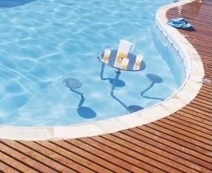 Banco de a o inox p piscina bar molhado chumbador em inox for Piscina 90cm altura