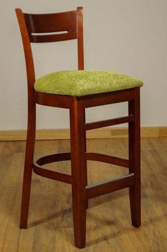 Banco de bar casa bonita muebles 2 en mercado libre for Bar de madera mercadolibre