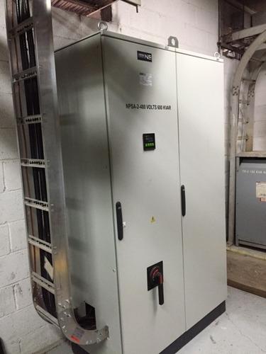 banco de capacitores correción de factor de potencia netseai