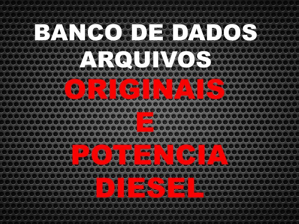 671aae0e0 Banco De Dados Arquivos Originais E Potencia Diesel Promoção - R ...