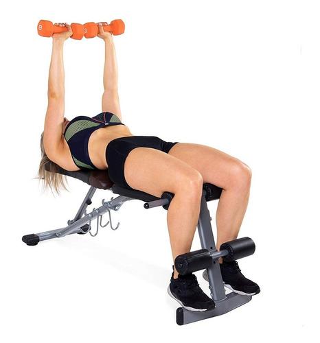 banco de ejercicio strength fid bench pesas abdominales