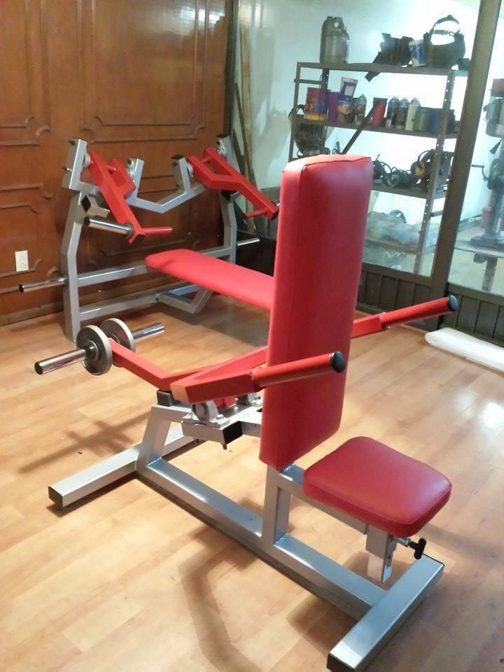 Banco de fondos articulado tricep fb fitness big gym for Aparatos de gym