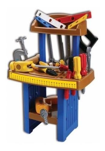 banco de herramientas 27 piezas mi primer taller lionel`s