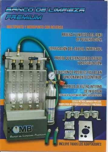 banco de inyectores premium mb - profesional