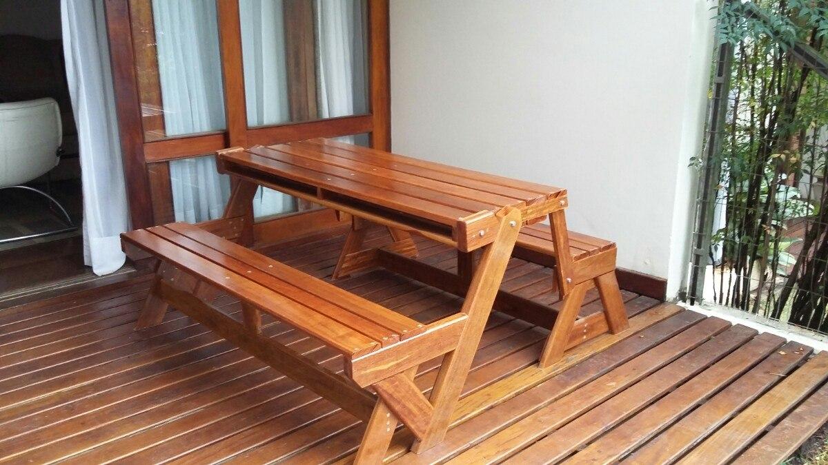 Banco de jardim dobravel conversivel vira mesa r for Sofa que vira beliche onde comprar