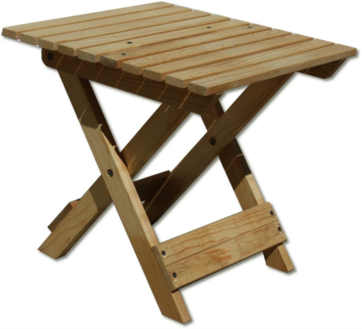 Banco de jard n mueble plegable madera jardin interiores for Mesa banco madera jardin
