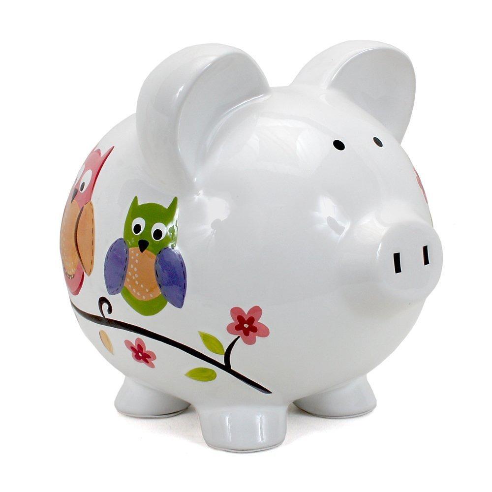 Banco De Juguete Child To Cherish Alcancia Puerquito -buho ...