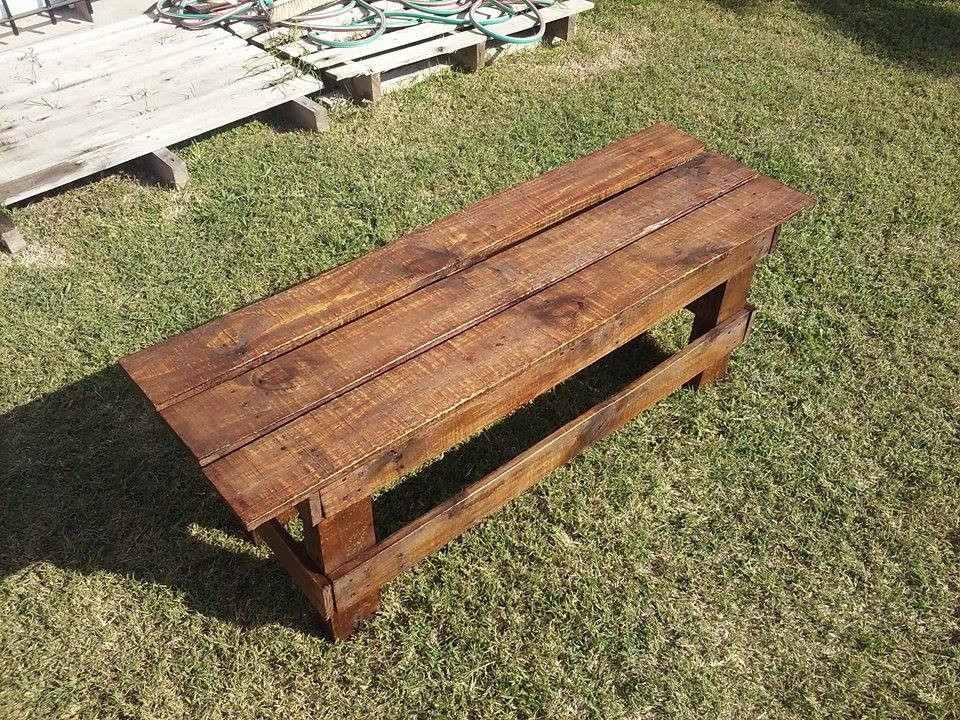 Bancos de palets de madera bancos de palets y madera - Palets de madera ...