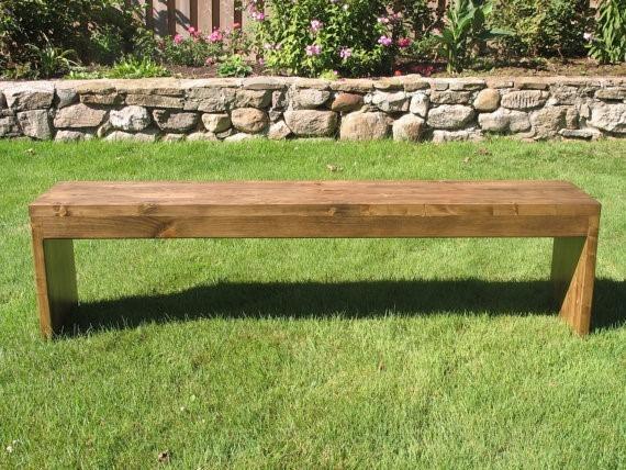 Banco de madera para jardin exterior bs for Bancos de jardin precios