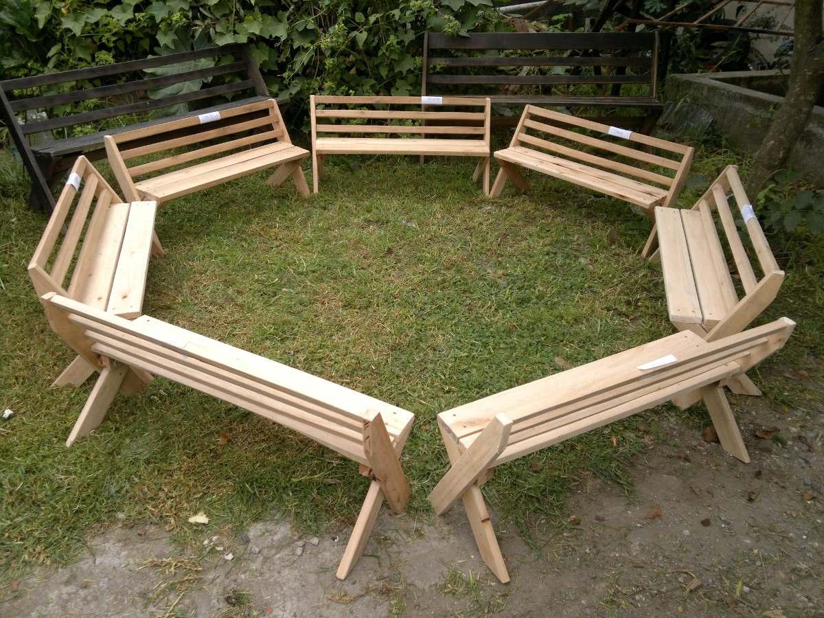 Bancos de madera jardin beautiful awesome banco de madera for Google banco exterior