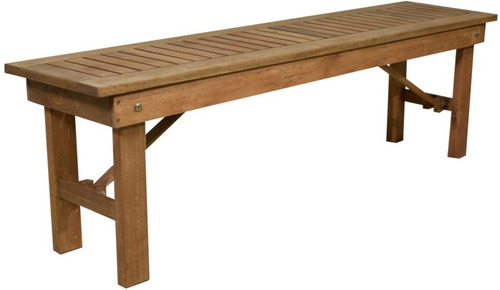 banco de madera plegable exterior de eucalipto 1,5 m bancos +