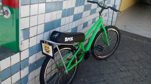 banco de mobilete c/ braçadeira p fixar no bagageiro bike