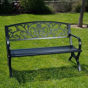 Banco De Patio Al Aire Libre Patio De Muebles De Jardin De