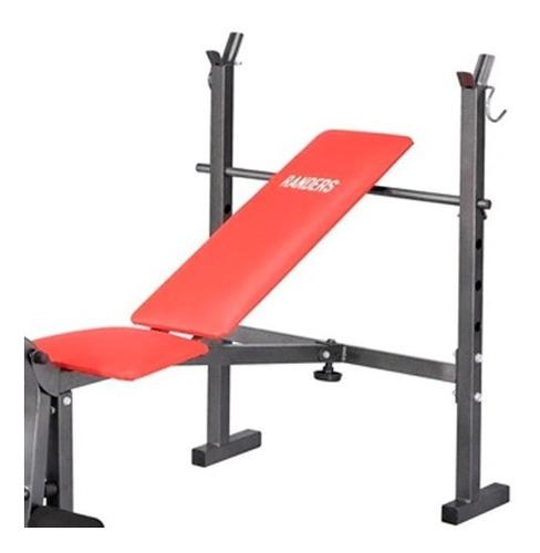 banco de pesas de piernas y pecho arg 130