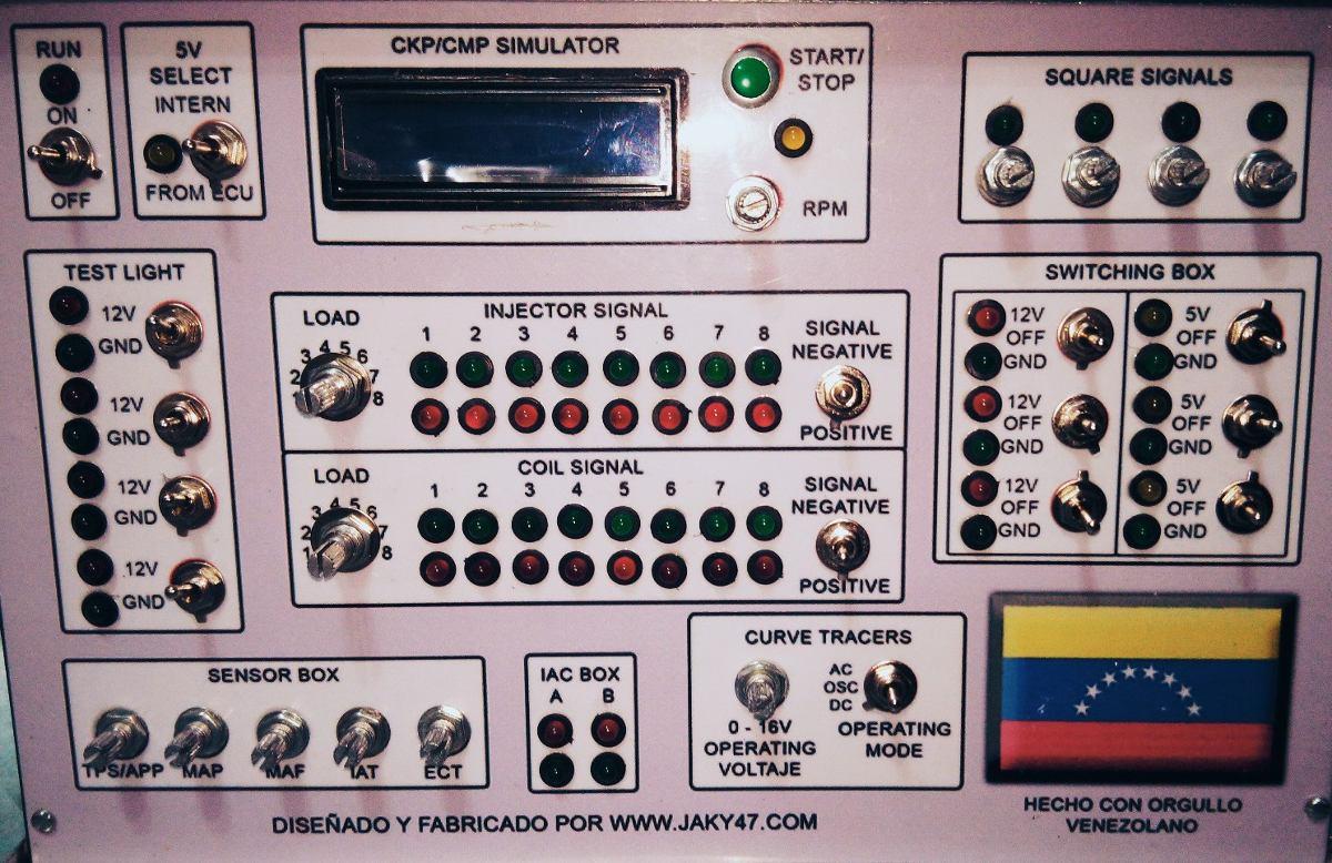 Banco De Prueba Computadora Automotriz Ecm Pcm Ecu 2017
