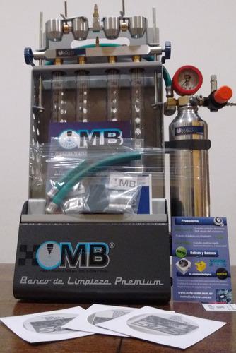 banco de prueba limpieza inyectores mb premium + pack dvd !!