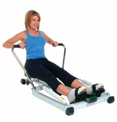 banco de remo - entrenamiento, adelgazar, gimnasio