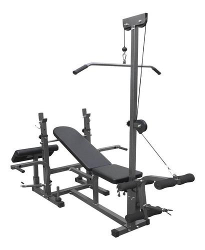 banco de supino 367 estação de musculação ginastica