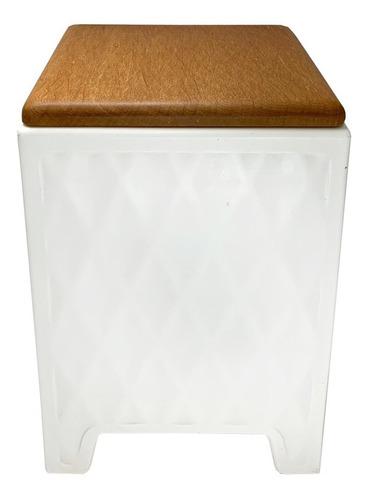 banco decoração branco decorfun
