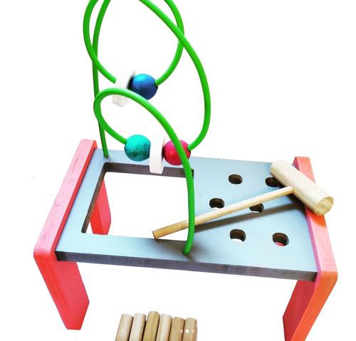 banco descarga prono laberinto 2 en 1 juego didáctico niños