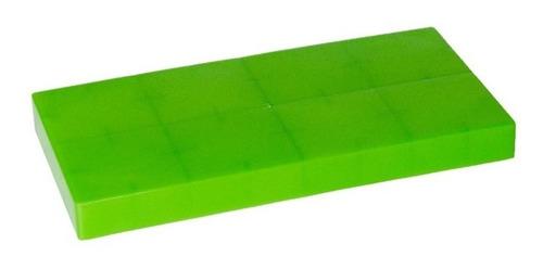 banco doble alto con bloques plásticos - ladrillos gigantes