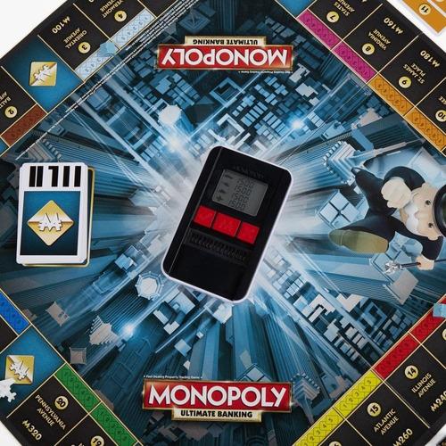 banco electrónico monopoly- juego de mesa