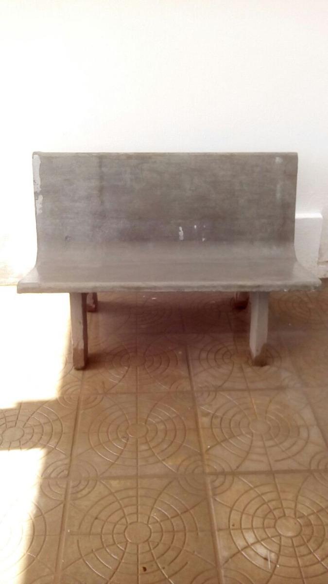 Banco Em Concreto Para Jardim R 225 00 Em Mercado Livre