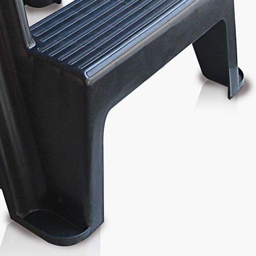 banco escada lones preto