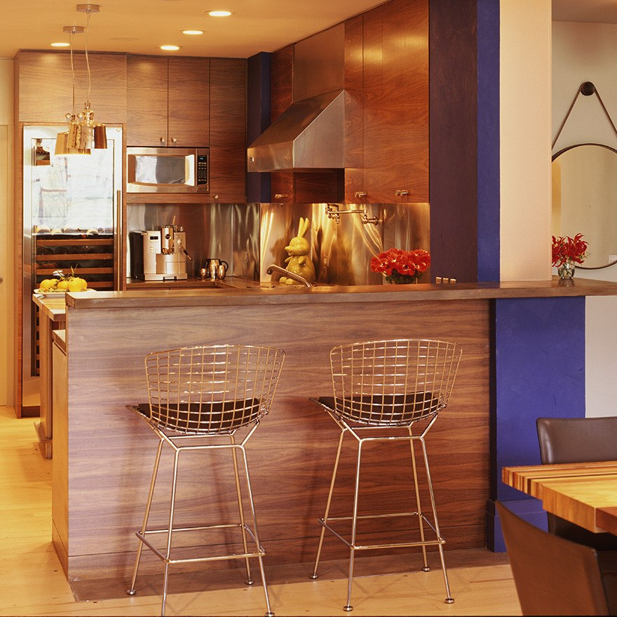 Banco harry bar cantina barra cocina sala buen fin for Bar en madera para sala