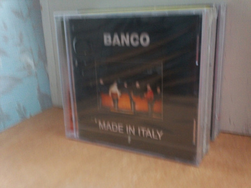 banco. made in italy. cd.