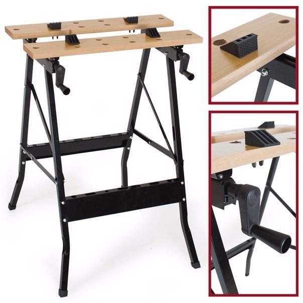 Banco mesa de trabajo para bricolaje carpinter a - Mesa de trabajo bricolaje ...