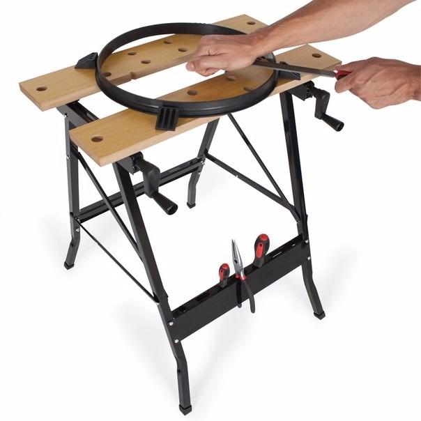 Banco mesa de trabajo para bricolaje carpinter a - Banco trabajo plegable ...