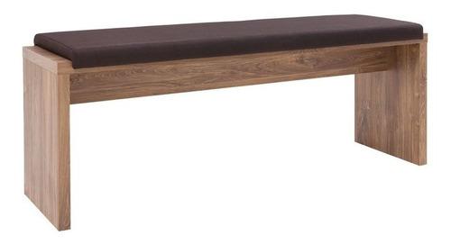 banco modelo bristol - roble cognac këssa muebles