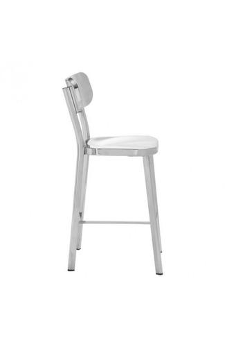 banco modelo winter - acero inoxidable këssa muebles