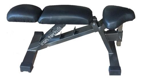 banco multiangular 90° 45° 180° pecho hombro press