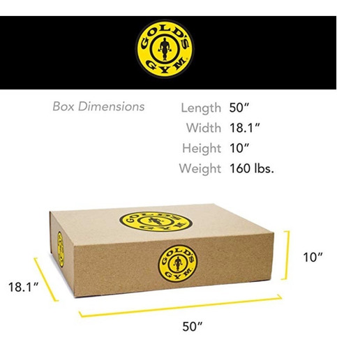 banco multigimnasio gold's gym + accesorio de piernas + barra con topes + 45 kg discos pesas - todo incluído !!