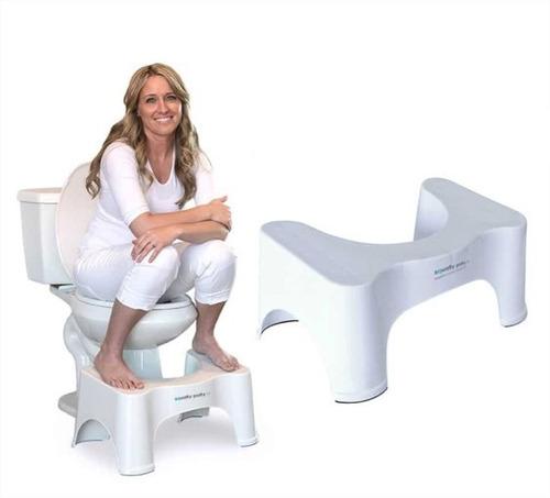 banco para baño estreñimiento color blanco dekor