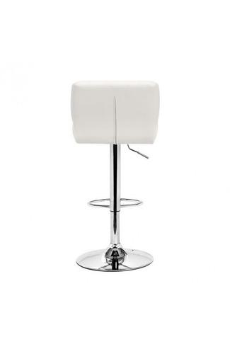banco para bar modelo formula - blanco këssa muebles