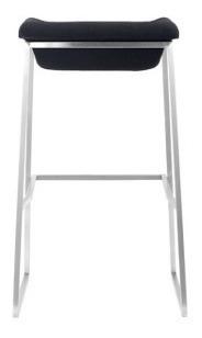 banco para bar modelo lids - gris obscuro këssa muebles
