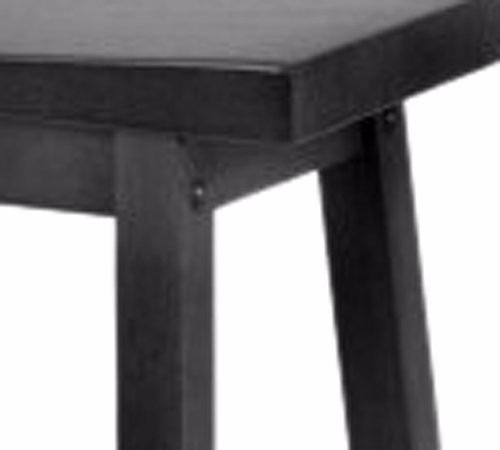 Banco para cocina barra de madera taburete 1 en for Bancos de madera para barra