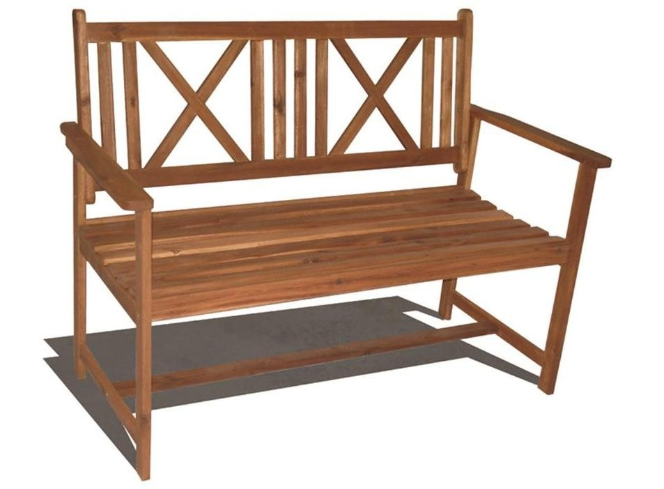 Bancos de madera para exterior mesa y bancos madera for Banco de madera exterior